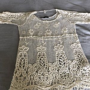3 FOR 10/ Zara lace top